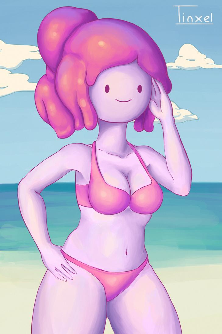 Princess Bubblegum's Vacation by Tinxel