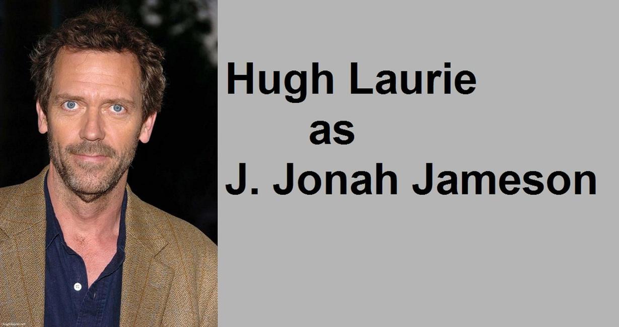 hugh laurie as j jonah jameson by thedarkinght on deviantart