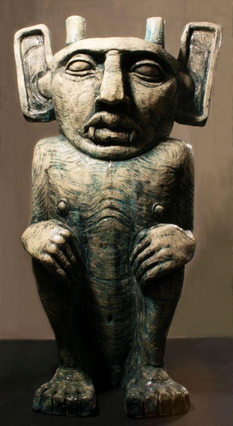 PYGAR. ceramic,24x12 in. 2014 by kd-matheson