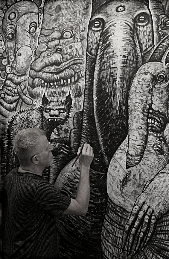 HERU,detail#4.work in progress, kd matheson.2015 by kd-matheson
