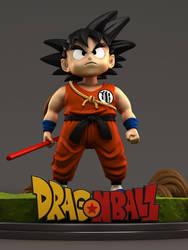 Kid Goku - Fanart