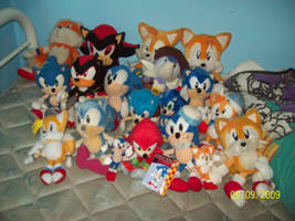 My Sonic collection 2 by Firestar-the-Werecat