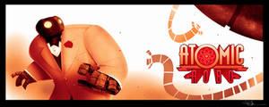 Atomic-Robo by JBVendamme