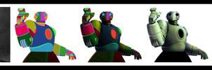 Atomic robo under construction