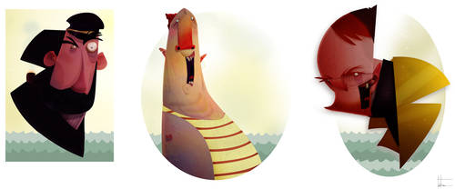 THE 3 FISHERMEN by JBVendamme