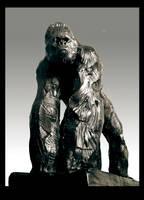 Gorilla II BRONZE by JBVendamme