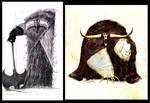 Kells early dvp doodles..