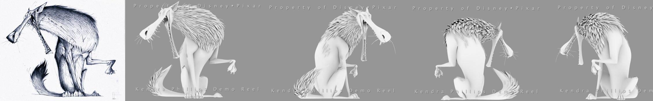 wolf turnaround by JBVendamme
