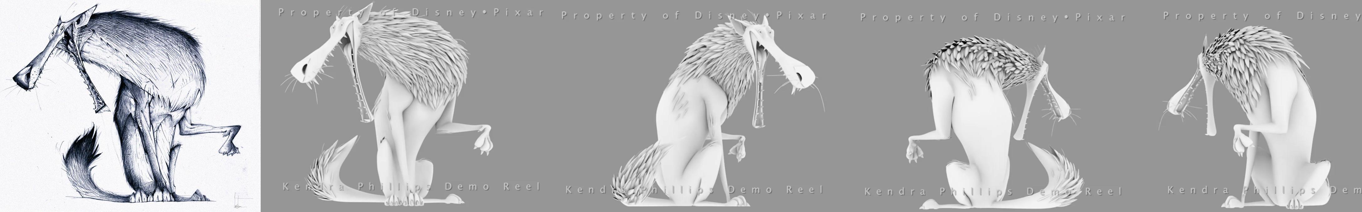 wolf turnaround by thedoberman