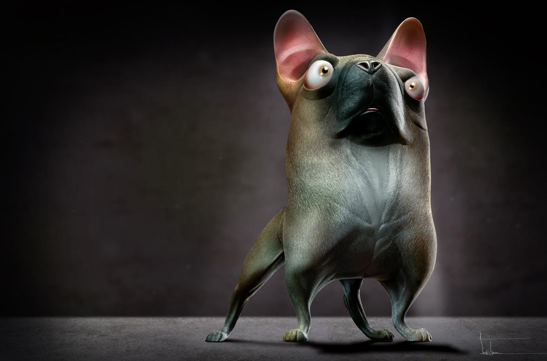 Pug by thedoberman