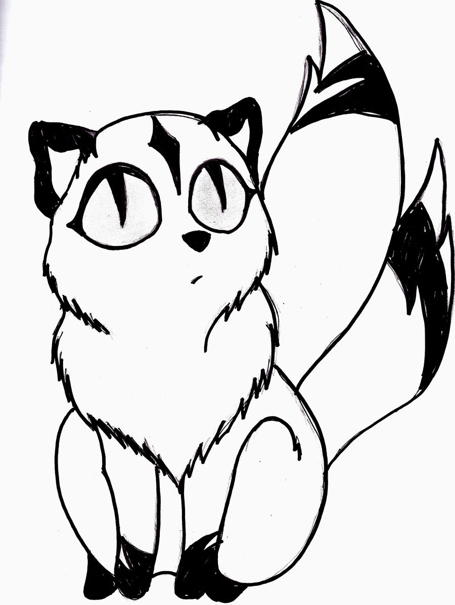 coloring book pages of kirara - photo#16