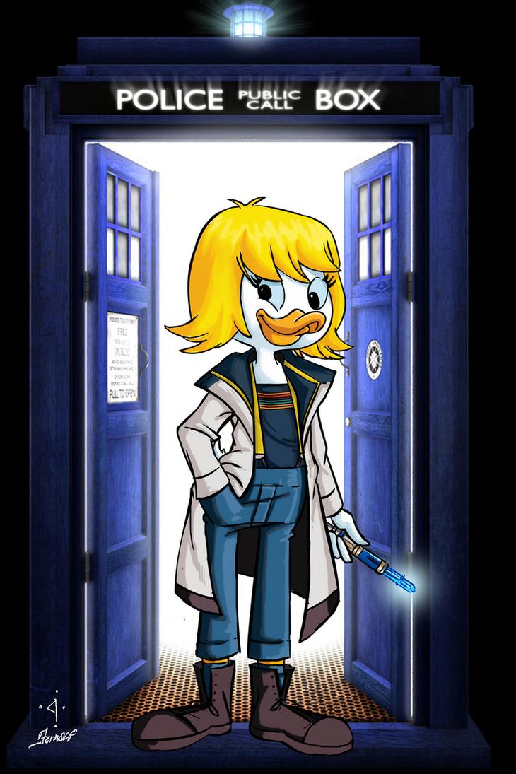 Thirteenth Doctor - Dickie Duck by fernalf