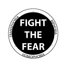 Fight the Fear button by sanglante-melodie