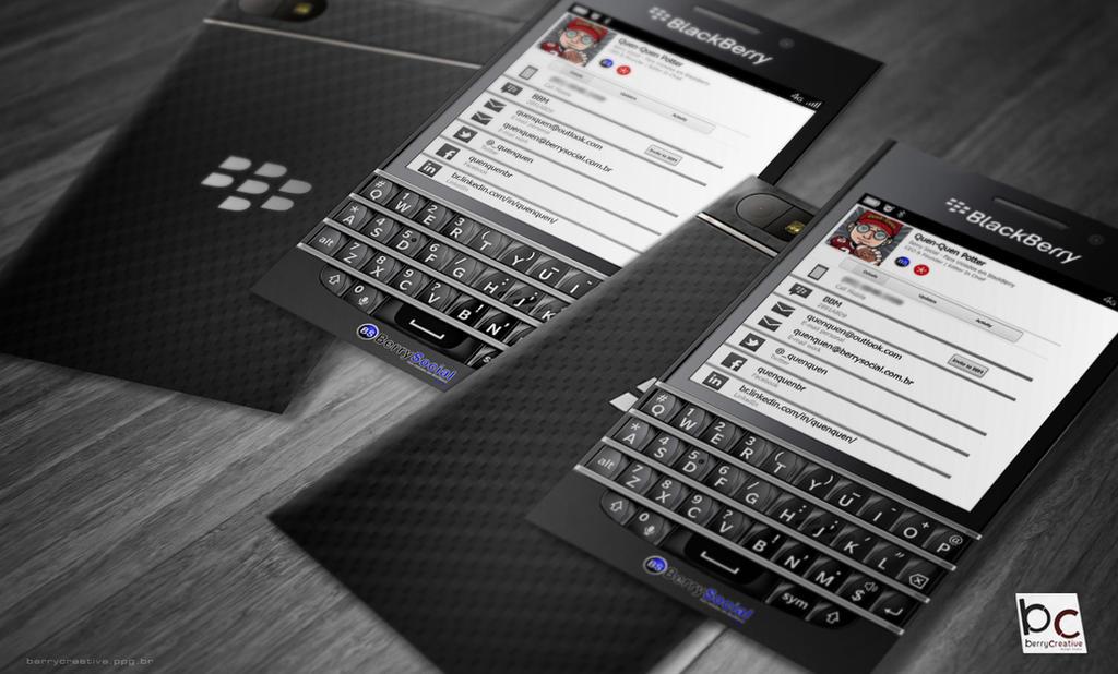 BlackBerry Q10 Business Card