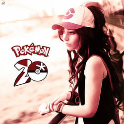 Pokemon 20 Hilda / Touko Painting