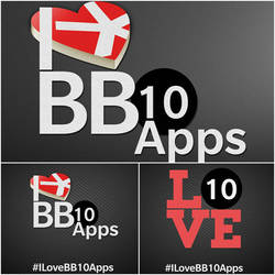 I Love BB10 Apps Campaign