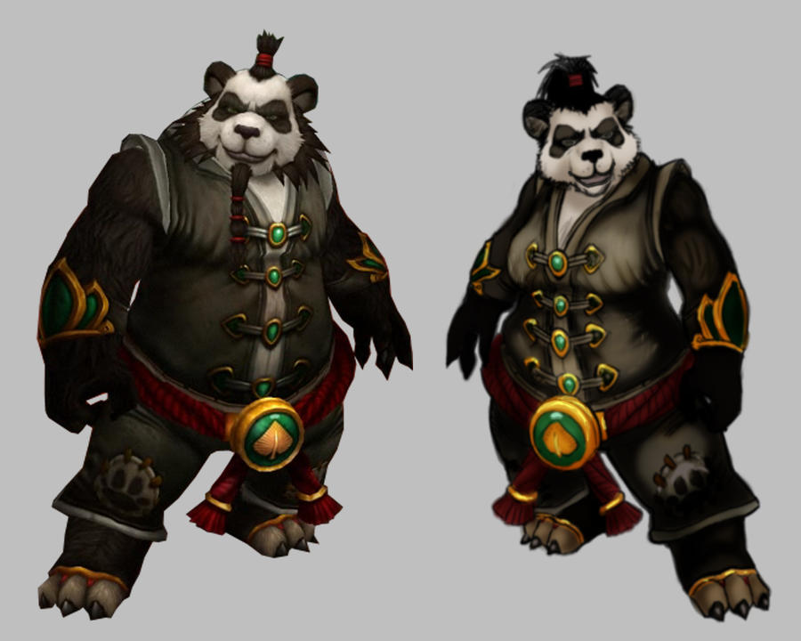 Pandaren Female consept by Smirgow