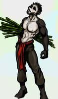 Slim Pandaren Male consept by Smirgow