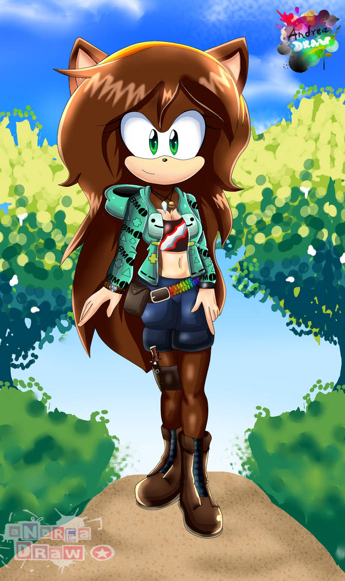 Practice Sonic X Mobius Unleashed Fan Character By Dsai Andrew
