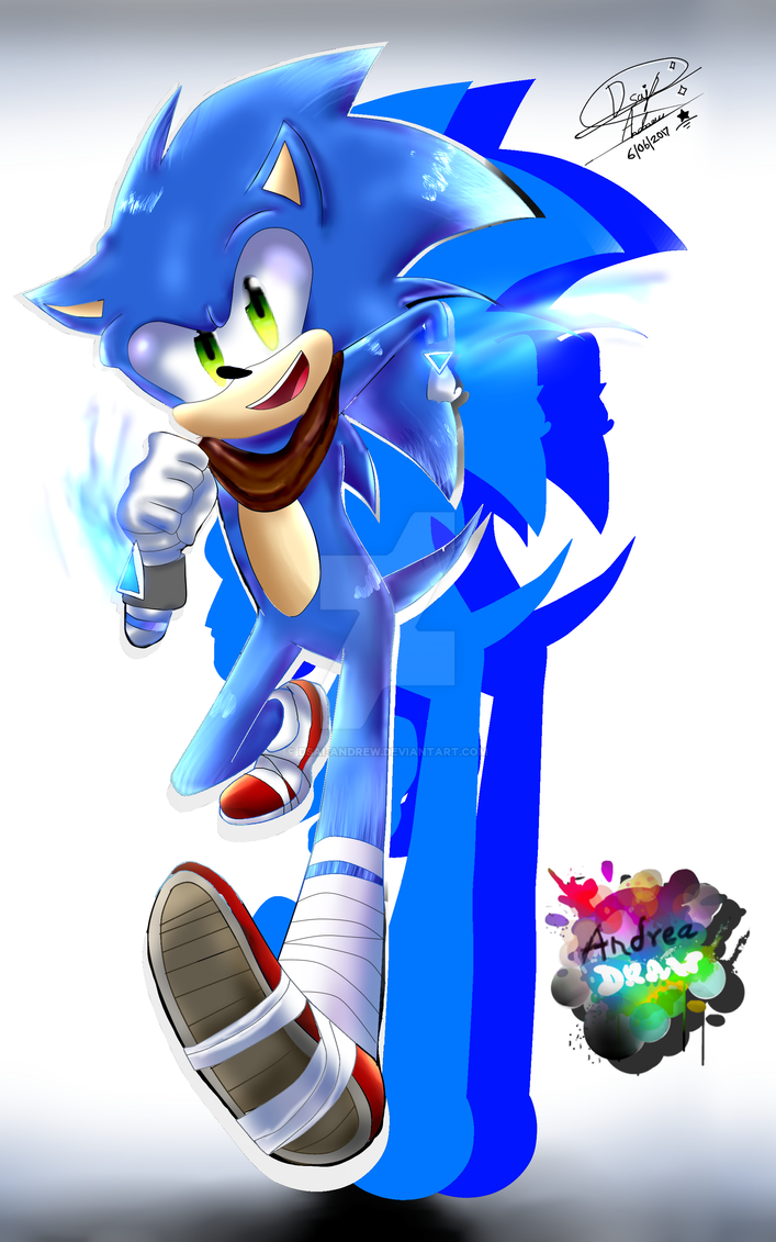 Sonic Boom  Hey COME ON by andreaplayed12
