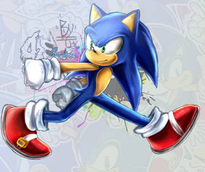 SONIC TH Collab Sonic Runners by DSai-Andrew