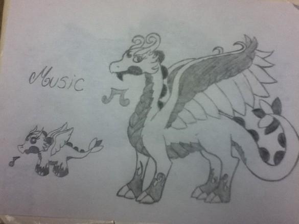 My DragonVale Music Dr...