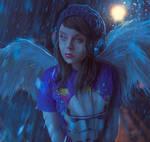 Angel Down by Kevinchichetti