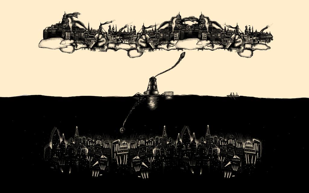 Infinite Cities Wallpaper 2 by MessyPandas