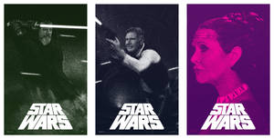 Star Wars Episode VII Poster - Trio