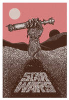Star Wars Episode VII poster by MessyPandas