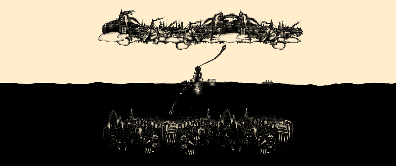 A Tale Of Infinite Cities Wallpaper 2560x1080 By MessyPandas