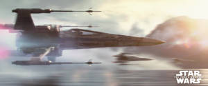 X-Wing The Force Awakens Banner by MessyPandas