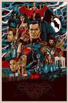 Batman V Superman: Dawn of Justice Poster by MessyPandas