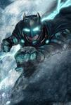 Batman V Superman Poster - Batman/No Text