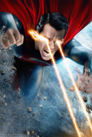 Batman V Superman Poster - Superman/No Text by MessyPandas