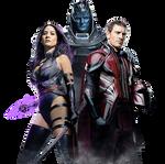 EW X-Men Apocalypse Cover No text by MessyPandas