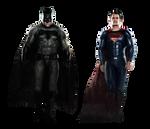 Batman V Superman empire cover png by MessyPandas