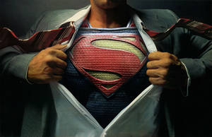 Superman by MessyPandas