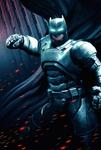 Bat Armour with hand raised