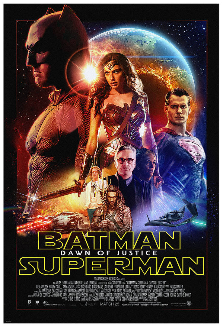 Batman v Superman x Star Wars parody