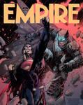 Batman v Superman EMPIRE cover Jim Lee Colouring