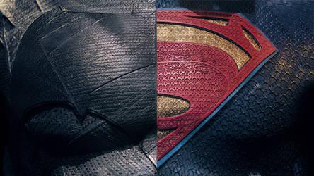Batman v Superman Wallpaper by MessyPandas