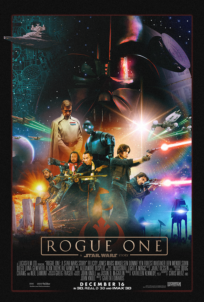 Rogue One poster by MessyPandas