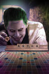 Suicide Squad Scrabble Poster Textless