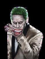 Joker Suicide Squad PNG by MessyPandas