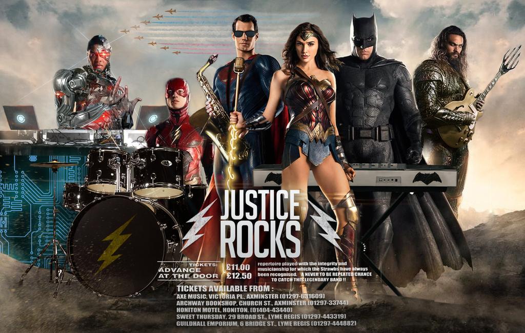 Justice Rocks by MessyPandas