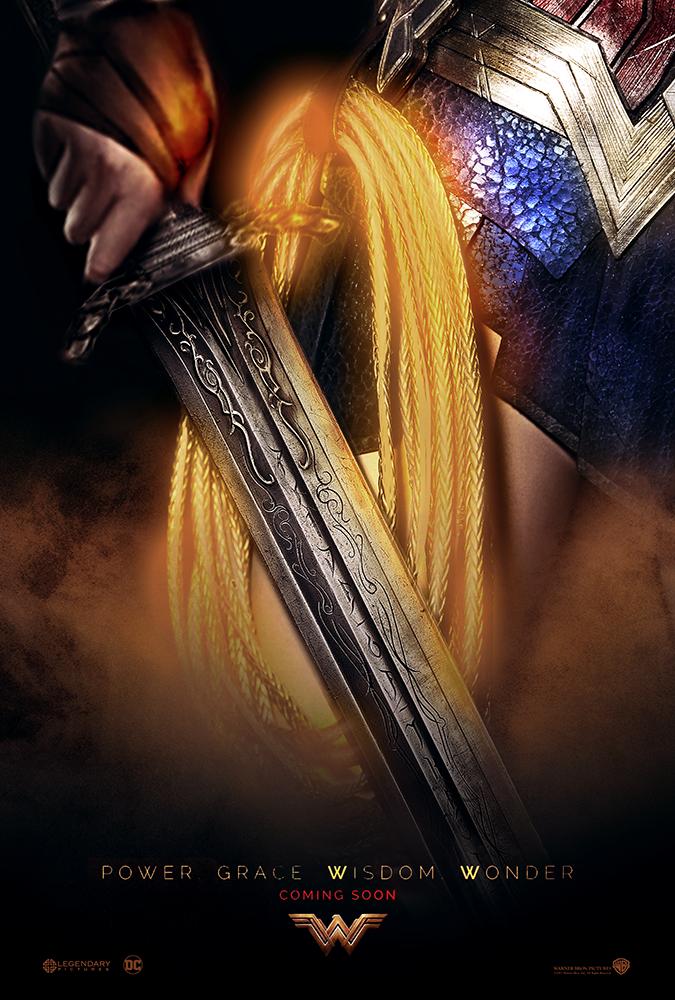 Wonder Woman Poster by MessyPandas