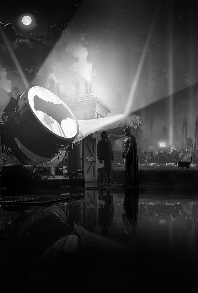 Meetings (Batman and Gordon) by MessyPandas