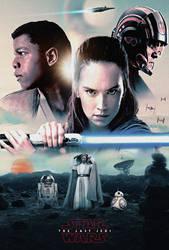 The Last Jedi Poster by MessyPandas