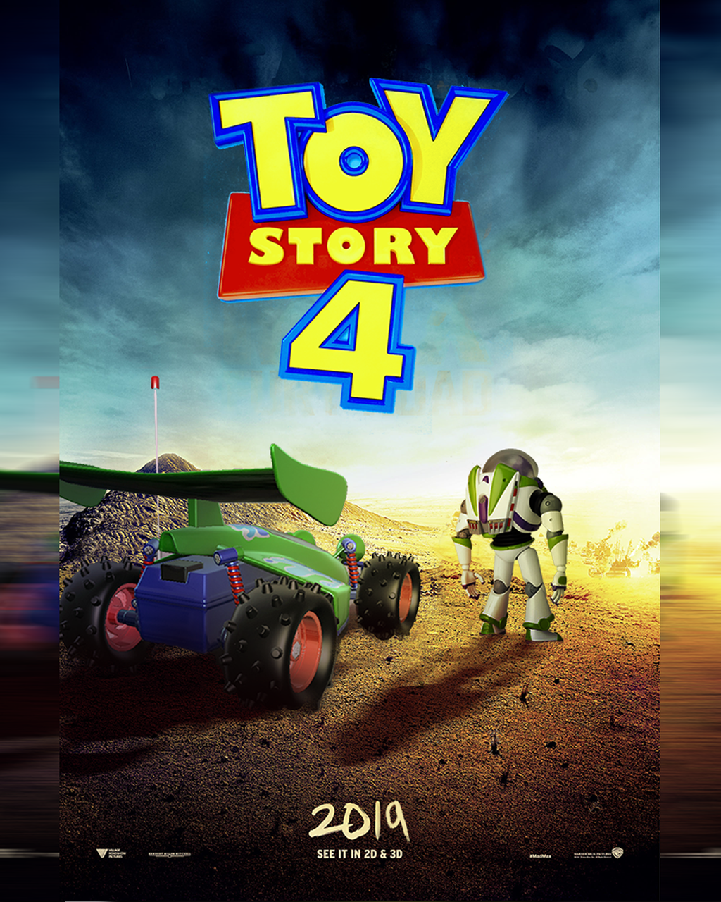Toy Story 4 Poster By MessyPandas On DeviantArt